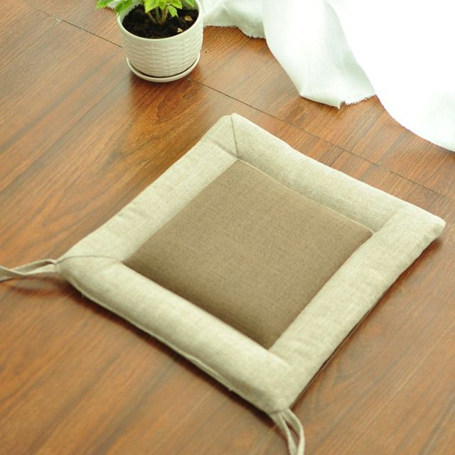 Square Shape Bench Chair Cushion Dining Bench Tatami Increased Thickening  Floor Mat