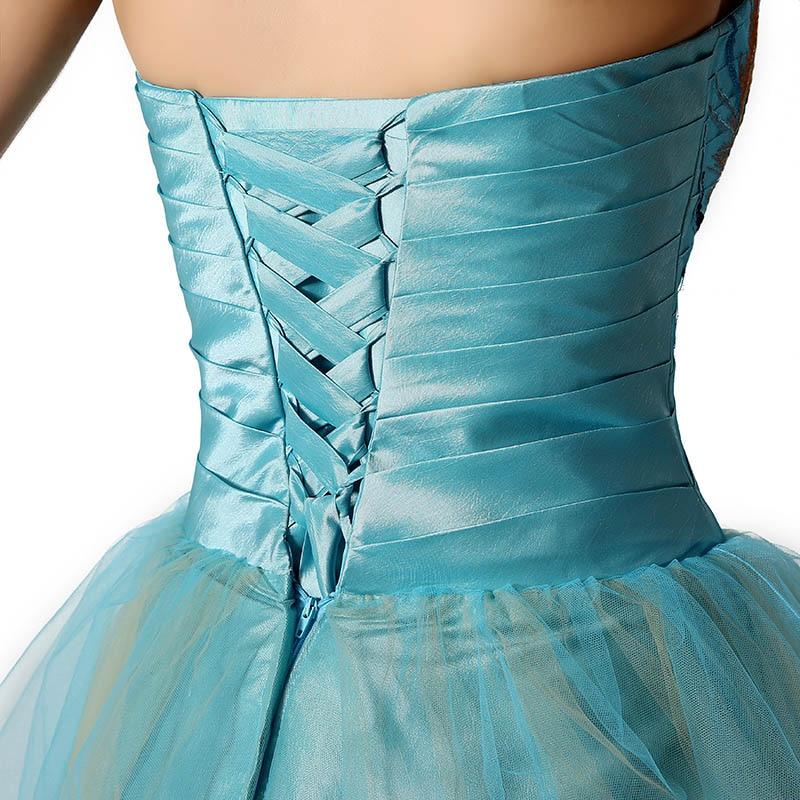 Tanie W magazynie Suknie Homecoming Crystal Sweetheart Sukienka - Suknie specjalne okazje - Zdjęcie 6