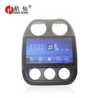 Bway 10.1 Car radio stereo for Jeep Compass 2011 Quadcore Android 7.0 car dvd GPS player with 1G RAM,16G iNand