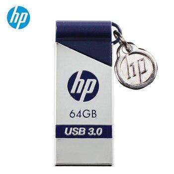 Oryginalna pamięć USB HP 16GB 32GB 64GB Metal x715w USB3.0 Pendrive Cle Pendrive Plus OTG DJ Pendrive Penna usb 64 gb