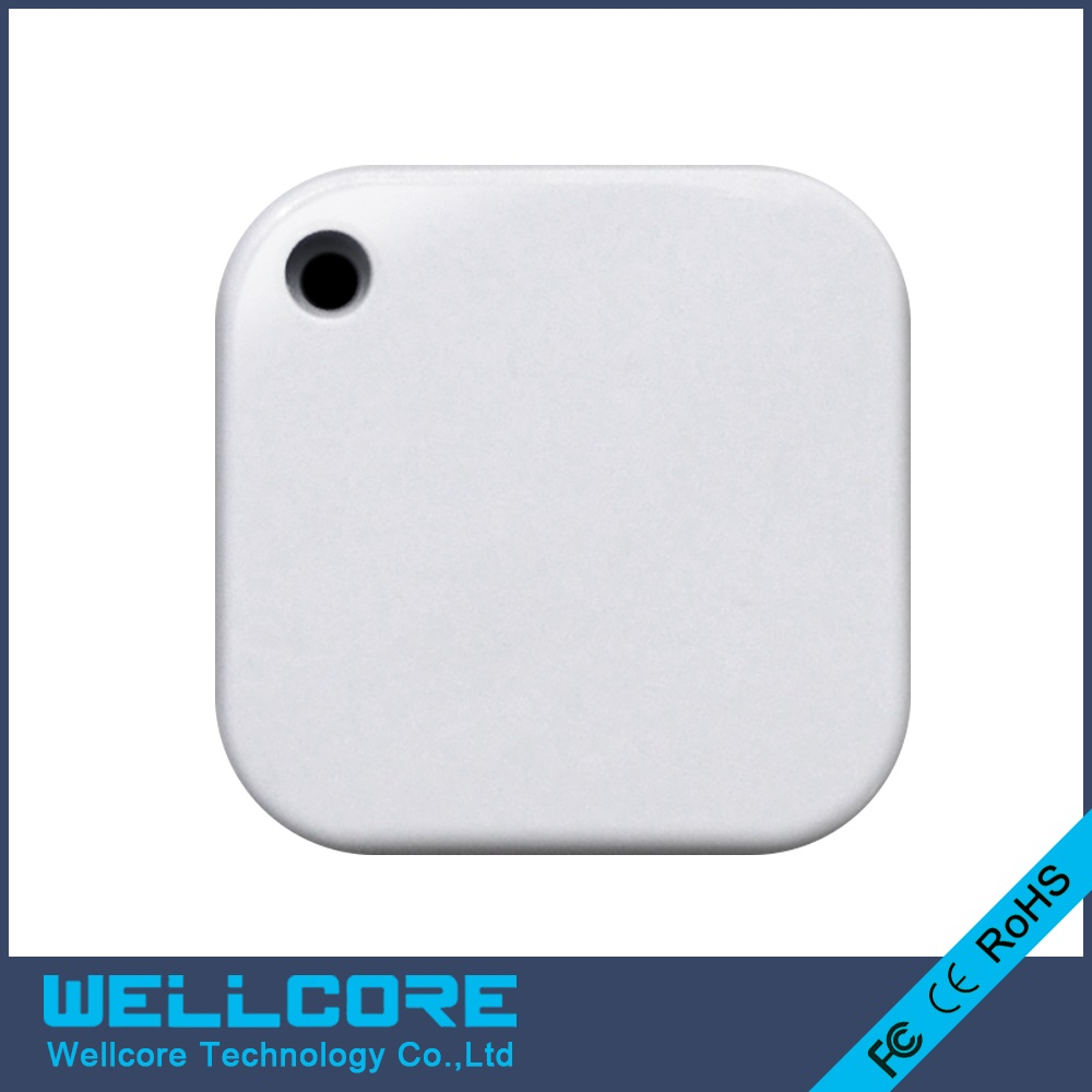 Free Shopping 2pcs lot Eddystone beacon Bluetooth 4.0 BLE Module iBeacon with battery and white case