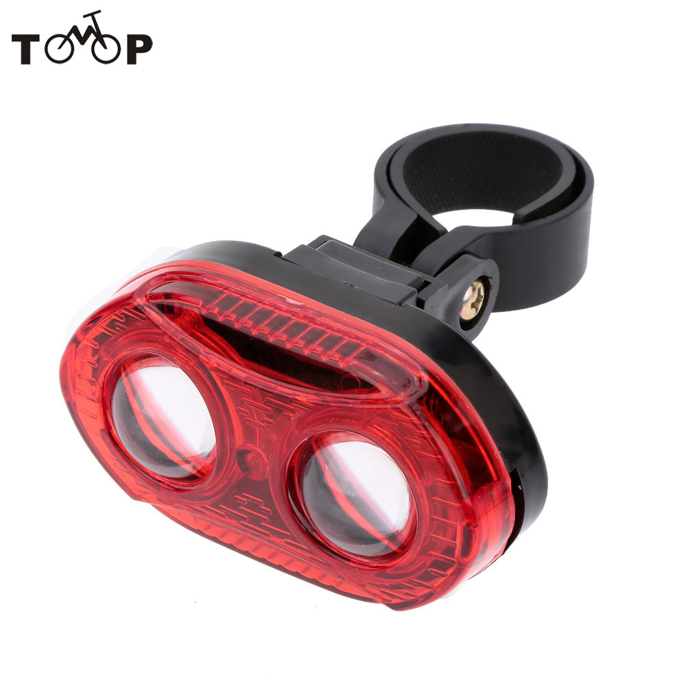 Bike-Accessories Tail-Light Rear-Lamp Warning Super-Bright NEW 3 LED 3-Modes Safty