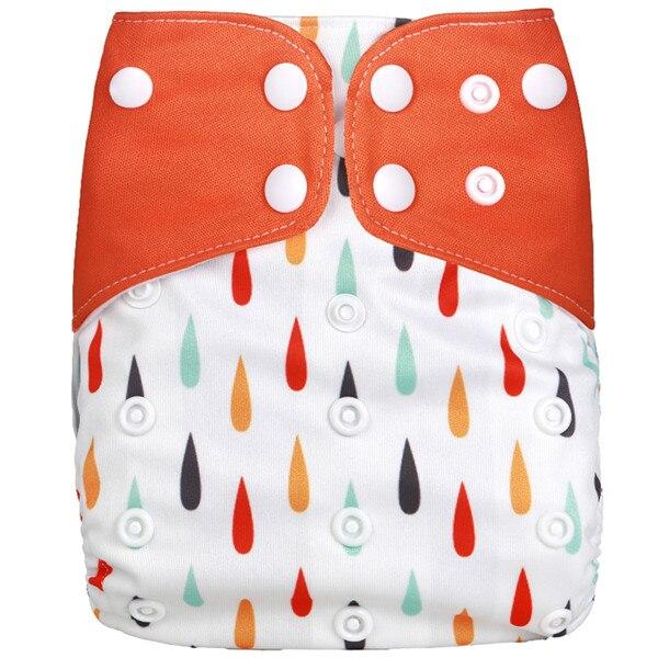[Simfamily] Новые детские тканевые подгузники, регулируемые подгузники для мальчиков и девочек, Моющиеся Водонепроницаемые Многоразовые подгузники для новорожденных - Цвет: NO3