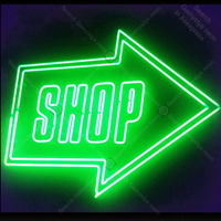 Neon Sign for Shop Neon Bulb Sign Green Arrow Light wall sign for Room Custom nein sign Express Lamp Beer Accesaries handmade