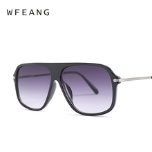 WFEANG 2019 New Fashion Square woman sunglasses Style Gradient Sunglasses Vintage Brand Design Sun Glasses Oculos De Sol