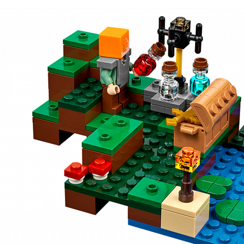 Model Building Kits Compatible With Lego 21133 18027 My Worlds
