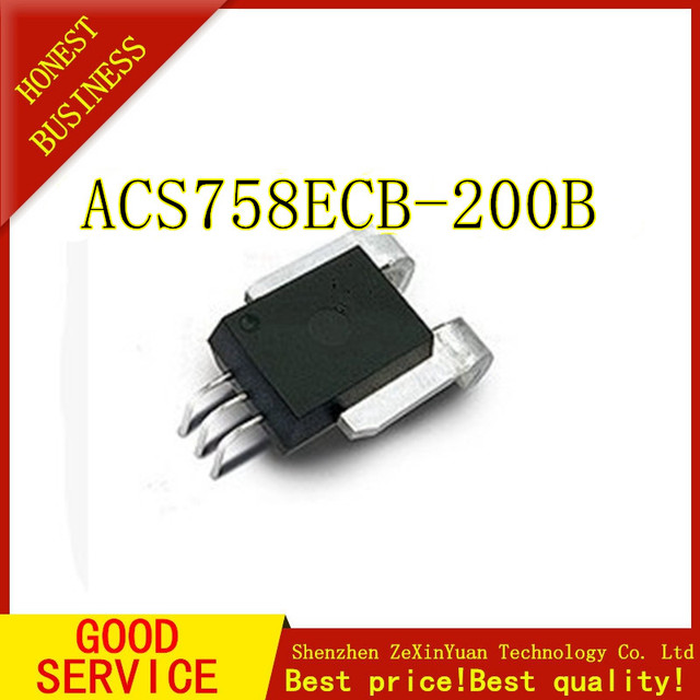 5 PCS/LOT ACS758ECB 200B ACS758ECB Actuel puce de détection