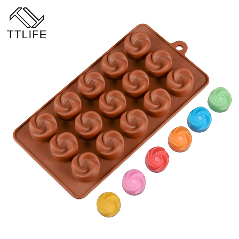 Baking & Pastry Tools Kitchen,dining & Bar Ttlife 16 Insect Silicone Chocolate Mold Diy Dessert Bakeware Fondant Jelly Pudding Mold Ice Cube Tray Confectionery Baking Dish