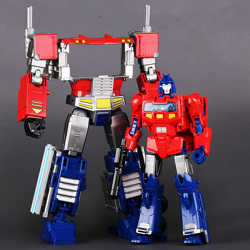 30 cm spies hecker gmbh G1 transformacji H6002 8 deformacji zabawki OP dowódca polowy ze stopu Model metalowe części PP09 figurka zabawki dla chłopca roboty w Figurki i postaci od Zabawki i hobby na  Grupa 3