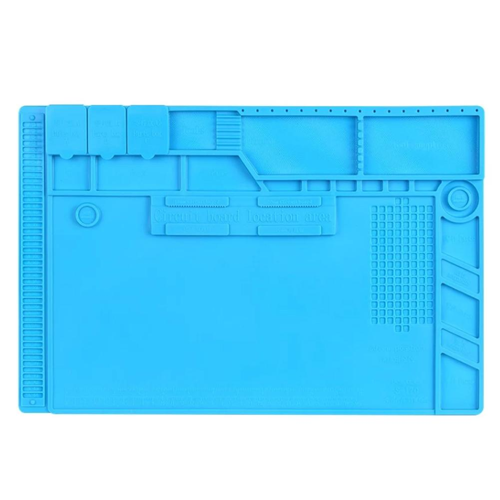 Magnetic Heat Insulation Silicone Pad Mat Carpet Welding