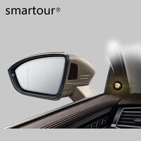 Smartour Car Blind Spot Mirror Radar Detection System BSD BSA BSM Microwave Blind Spot Monitoring Assistant Driving Security