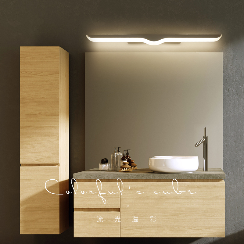 40CM-120CM Mirror Light bathroom light wandlamp LED Wall Lamp deco maison Anti-fog Brief Modern Cabinet Bathroom Wall Light modern led indoor wall light bathroom mirror light cabinet picture lamp vanity waterproof anti fog bar wall cabinets wall light