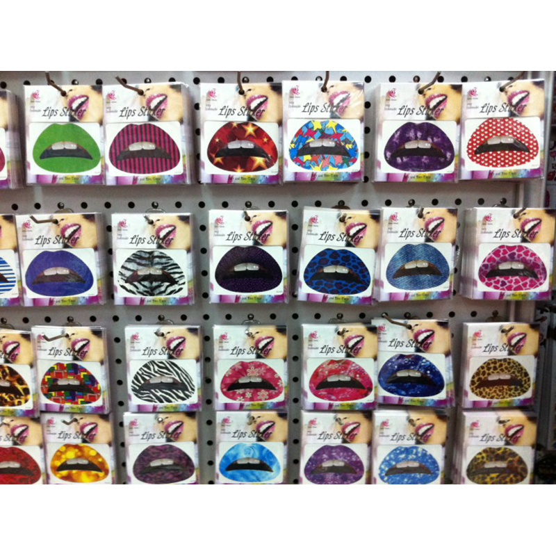 60-Pcs-Temporary-Lips-Tattoo-Sticker-Lipstick-Art-Transfers-Many-Designs-Colorful-Fancy-Dress-Party-Lip