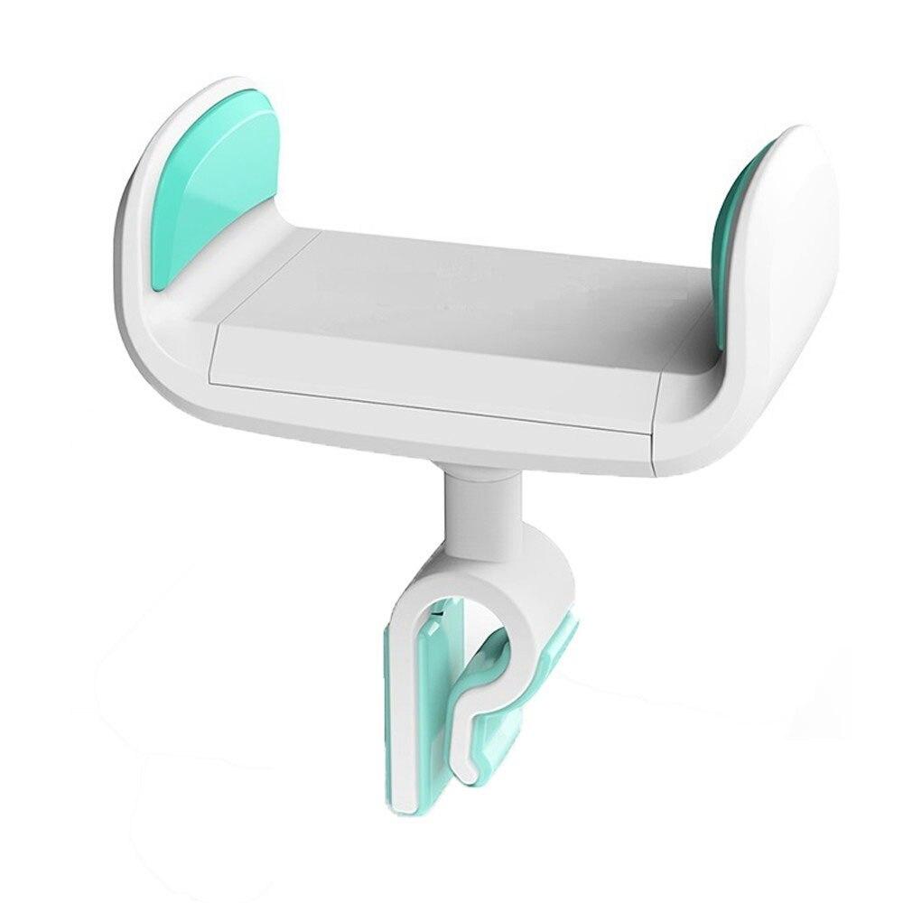 Автомобильный держатель для телефона, регулируемый держатель для телефона с gps, держатель для смартфона, дизайн HUD, автомобильный держатель для вентиляции, гравитация, универсальный - Цвет: White Blue