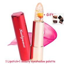 1Pcs Brand Kailijumei Magic Color Temperature Change Moisturizer Bright Surplus Lipstick Lips Care 3 Colors for mouth to lip
