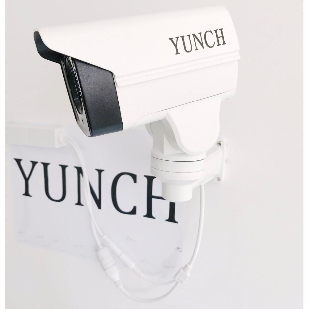 Rotatif de sécurité Bullet MINI PTZ Caméra IP avec Onvif 2/4MP CCTV 4/10X ZOOM IR Nuit pour la surveillance extérieure Caméra h.265 POE