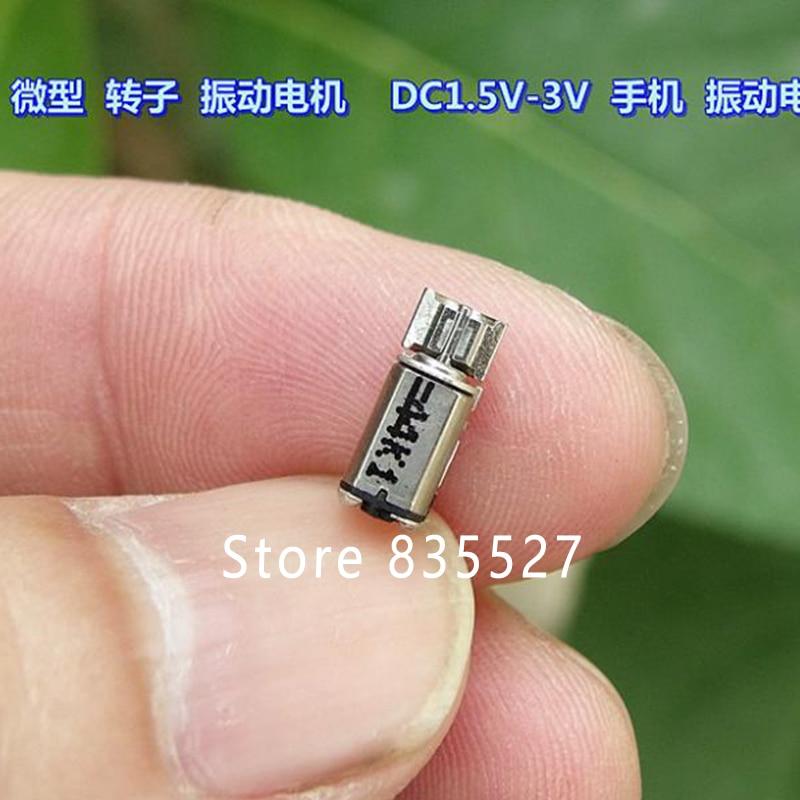 10 pcs Miniature rotor Vibration motor DC1.5V//2V//3V Phone Vibration motor DIY