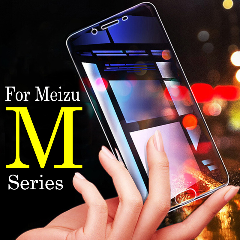 For Meizu Protective Glass M5c For Meizu Mx 6 Glass Mx4 Mx5 Pro 5c M6 Note M3s U20 Maisie Mx5 Screen Protector Note M6 Glas Film