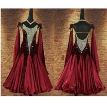 Exquisite ballroom dance dresses standard ballroom dancing clothes Competition standard dance dress waltz tango ballroom dress