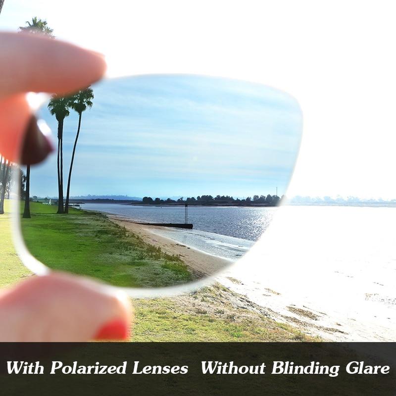 Black Iridium Mirror Polarized Replacement Lenses For Radar Path Sunglasses Frame 100% UVA & UVB Protection