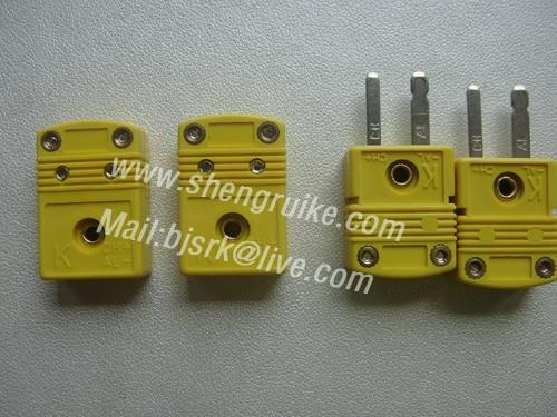 Miniatűr K OMEGA típusú hőelem csatlakozó