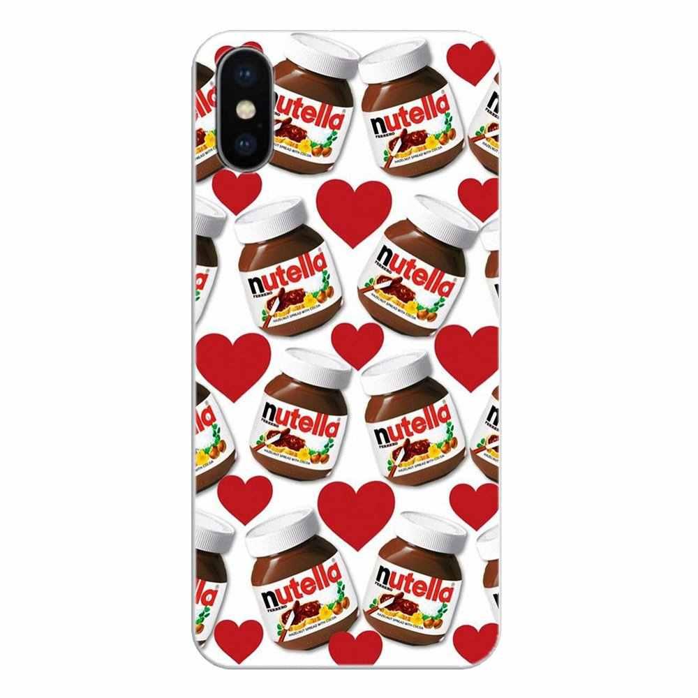 Coklat Tumblr Nutella Botol Pola Kolase untuk Huawei Kehormatan 8 8C 8X9 10 7A 7C Mate.jpg q50