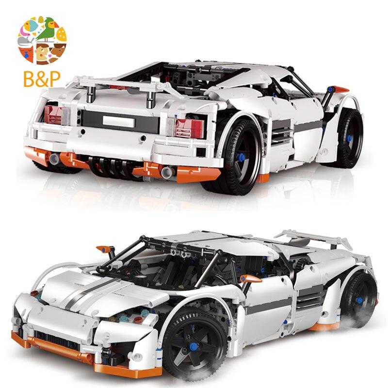 lepin Legoing 2811 1950Pcs Technic Series The Predator Supercar Building Blocks Bricks Gifts Toys compatible 20052