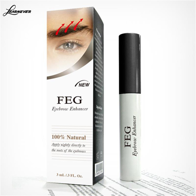 FEG 100% Original Rising Eyebrows Growth Serum Kareprost Eyebrows Enhancer Eyelash Growth Liquid Makeup Eyebrow Longer