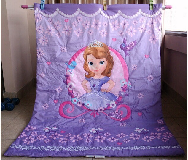 Bedding product Girl baby quilt Children quilt blanket Beautiful princess fairy tale world pattern