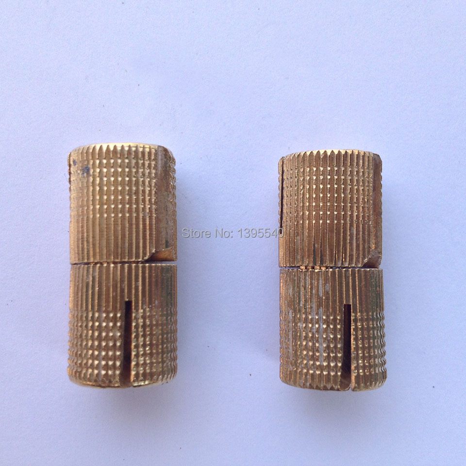 New 2pcs 10mm brass furniture cabinet hinge cylindrical for Furniture hinges