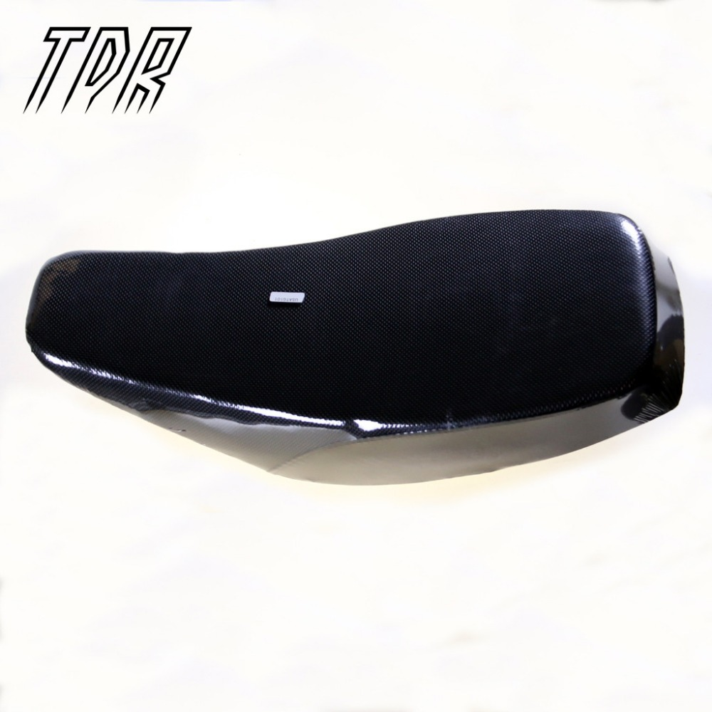 TDR ATV Quad <font><b>Seat</b></font> Cover for Atomik Chinese Dirt Pit Bike 110 1250cc Black Kids Buggy Go Karts <font><b>Seats</b></font>