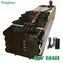 Free Customs Tax Electric Bike 48V 10Ah 12AH 13AH 15AH 16AH Silver Fish Li-ion Battery for Bafang BBS02 BBSHD Tongsheng Motor(China)