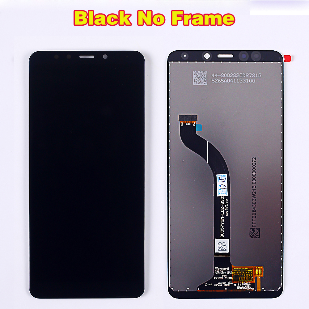 HTB162fbbfjsK1Rjy1Xaq6zispXaV AAA 5.7 inch LCD display for Xiaomi Redmi 5 touch screen digitizer assembly 1440*720 Frame Oleophobic Coating 10 Touch