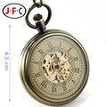 Hollow bronze mechanical watch watch list nostalgic retro fashion lady simple simple Swiss chronograph B054