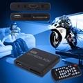Мини Полный 1080 P HD Media Player Окно MPEG/MKV/H.264 HDMI AV USB + удаленная Поддержка MKV/RM-SD/USB/SDHC/MMC HDD-HDMI