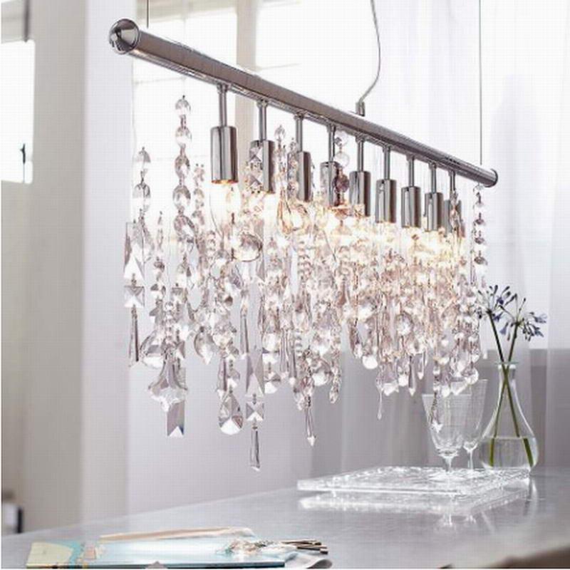 2016 Modern Large Lustre K9 Lumiere Crystal Pendant Lamp