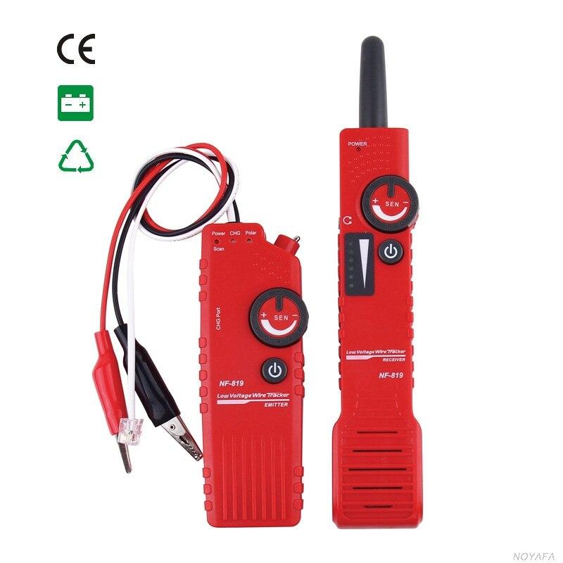 NF 819 RJ45 RJ11 BNC Low Voltage Underground Cable Finder Wire Tracker NF_819