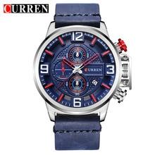 CURREN Brand Wristwatches Fashion Sports Men Watches Leather