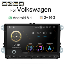 OZGQ Universal 9 inch Player Car Gps Navigation Android 8.1 or 9.0 Autoradio Stereo For Volkswagen Passat Golf Sedan With Canbus