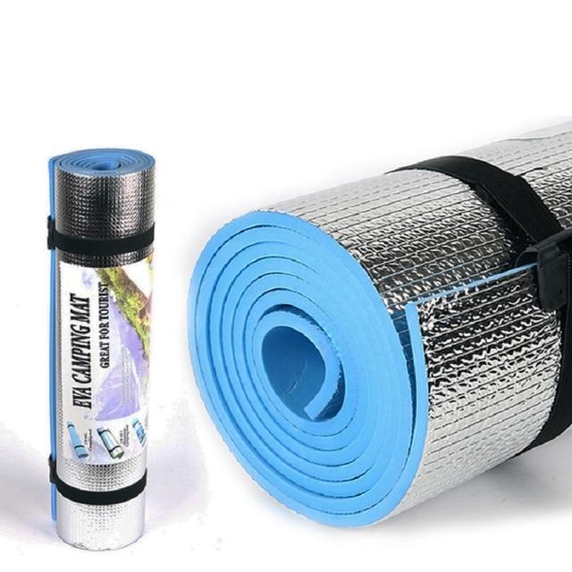 Outdoor camping mat air mattress picnic blanket picnic mat pads Aluminum Foil mat Camping Dampproof beach mat 180*50*0.6cm