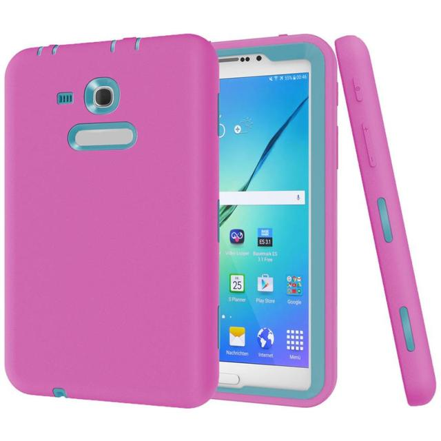 HL 2017 Shockproof Protective Case Cover For Samsung Galaxy Tab E Lite 7.0 SM-T113 Defender ma02 Levert Dropship  E22