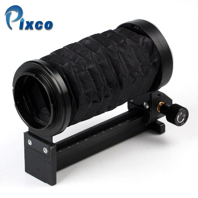 Pixco ชุดสำหรับ Nik สำหรับ Canon สำหรับ Pentax พลาสติกมาโครเลนส์ขาตั้งกล้องขยายเลนส์ Photo Studio ชุด