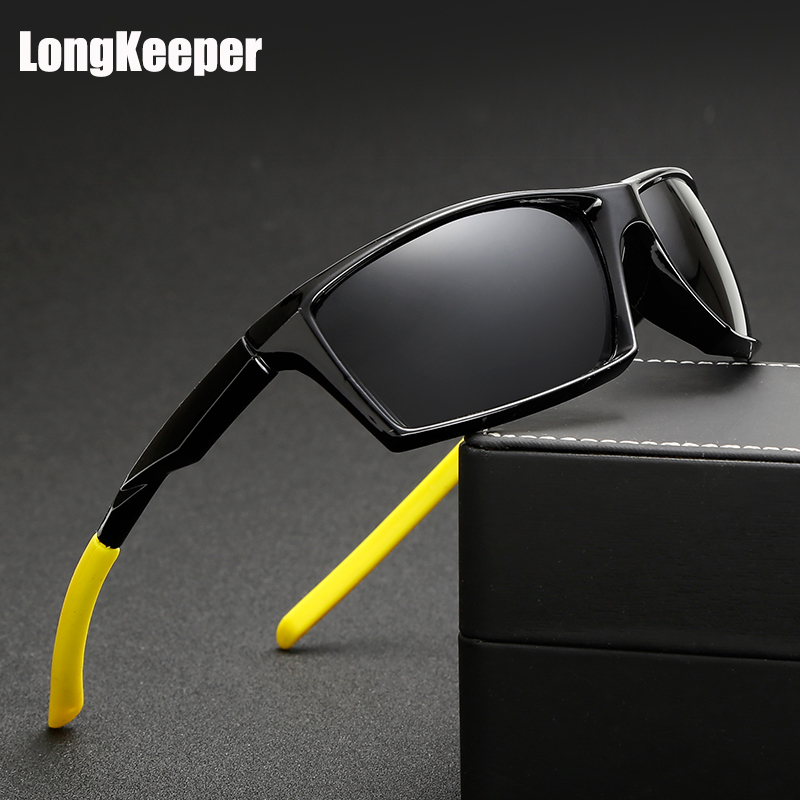 LongKeeper 2017 Gepolariseerde Nieuwe Zonnebril Mannen Topkwaliteit Mannelijke Zonnebril Eyewear Merk Ontwerp UV400 mannen Gafas KP1005