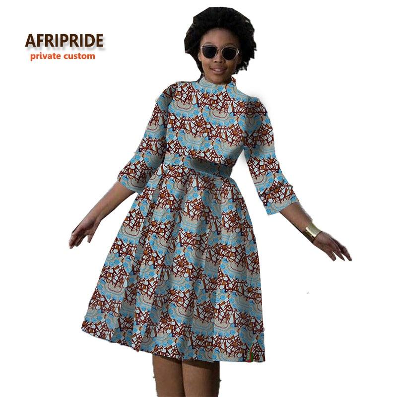 9ec01c539d32 2018 αφρικανικό φόρεμα για τις γυναίκες νέα υφάσματα μοτίβο batik african  ρούχα μόδα στυλ για μικρά κορίτσι.