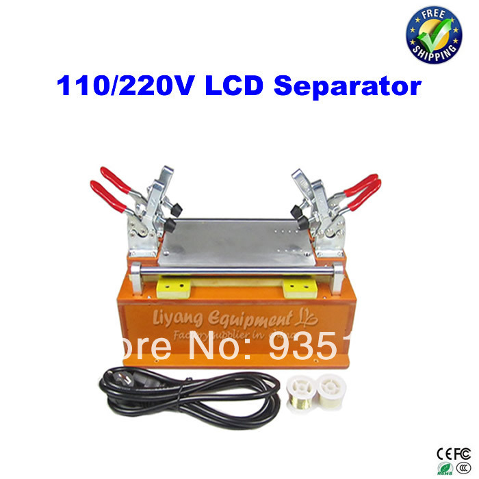 LCD touch screen assembly separator on split screen machine repair machine for cellphone iphone/samsung..etc bst 855a lcd vacuum separator touch screen assembly splitter below 7 inches cellphonesplit screen machine