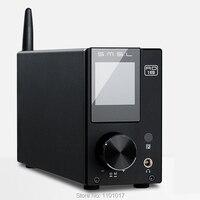 SMSL AD18 80 Вт * 2 настольных ЦАП усилителя HIFI EXQUIS DSP USB Bluetooth оптический/коаксиальный декодер с пультом дистанционного управления управление