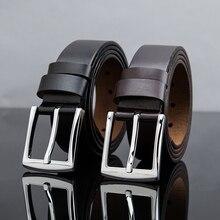 Raptiepps 2017 100% cowhide genuine leather belts for men brand Strap male pin buckle fancy vintage jeans cintos masculinos free