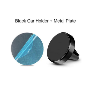 Image 5 - Magnetic Phone Holder on Xiaomi Pocophone F1 Huawei Car GPS Air Vent Mount Magnet Cell Phone Stand Holder for iPhone 7 Samsung