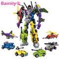 [Bainily] 6 unids/set destructor ares súper héroe de la serie de acción diy bloques de construcción de juguetes juguete nuevo regalo de los cabritos compatible con legoe niño