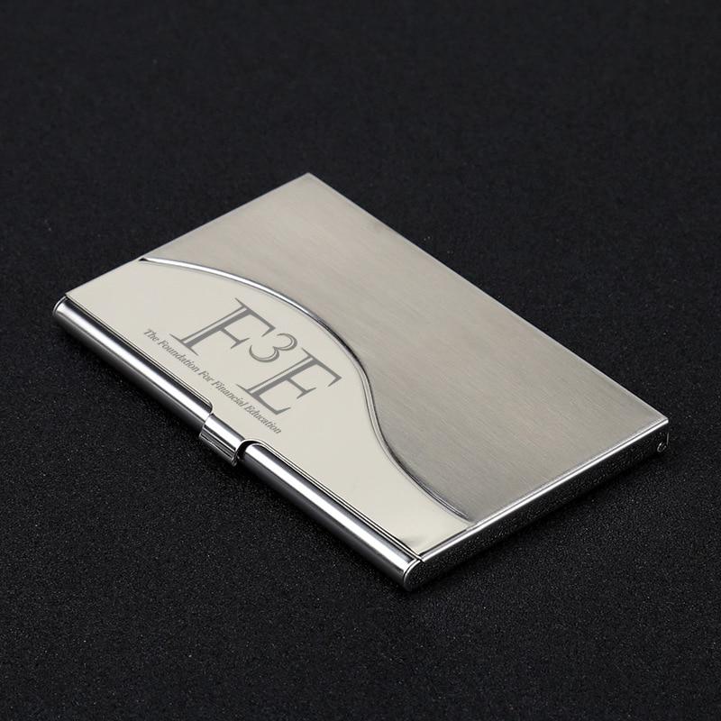 50pcs Custom Logo Metal Business Name